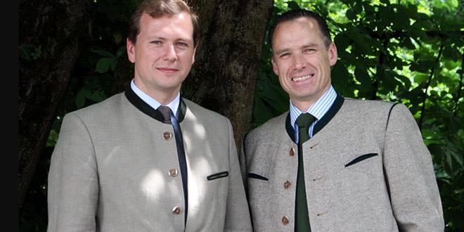 Franz Inselkammer (Brauerei Aying) und Peter Inselkammer (Eigentümer Platzl Hotel) erzählen alles über Marias Platzl