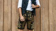 Oktoberfest Outfit-Trend für IHN: Streetwear Lederhosen Look