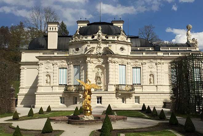 Schloss Linderhof - Seitenansicht