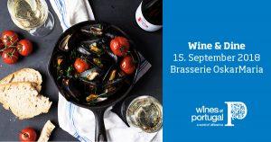 Wine & Dine @ Brasserie OskarMaria im Literaturhaus | München | Bayern | Deutschland