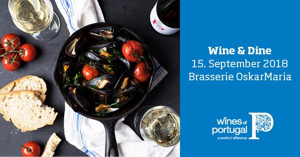 Wine & Dine in der Brasserie OskarMaria