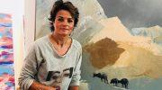 Münchner Galerie Szene: Simone Opdahl macht Schlagzeilen mit Hasen