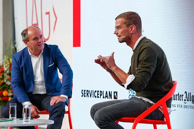 TV-Experten Wolfram Kons und Jojo Winterscheidt. Fotocredit: Michaela Handrek-Rehle