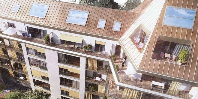 ein penthouse zum verlieben in bogenhausen mit alpenblick. Black Bedroom Furniture Sets. Home Design Ideas