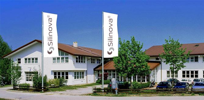Firmengebäude von Silinova
