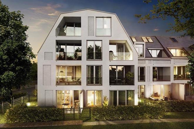 2021 wird dieses Neubauobjekt bezugsfertig sein. Fotocredit: neubaukompass.de