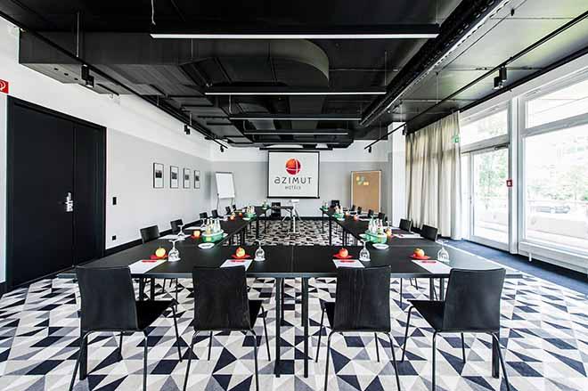 Tagungsraum Dresden - einer von fünf Konferenzräumen im Hotel Azimut