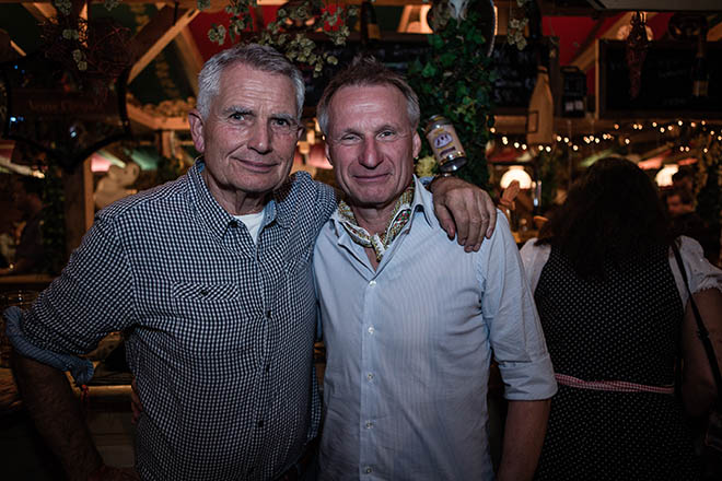 Wolfgang Dietrich und Michael Reschke bei der Canstatter Wasen!