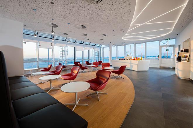 Die neue Lounge am Flughafen München Terminal 1