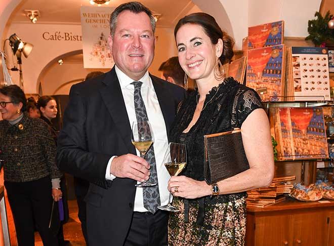 Josef Schmid mit Frau Natalie. Fotocredit: Sabine Brauer, Brauerphotos