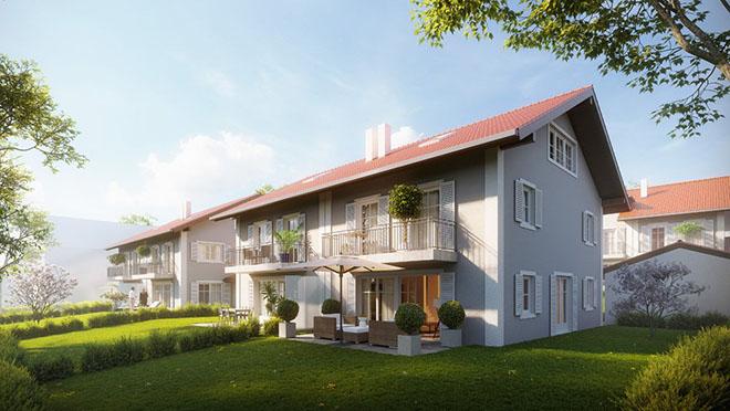 Die Preise beginnen bei ca. 789.000 € bis 1,1 Mio. €. Vier Haus-Kategorien stehen zur Auswahl. Fotocredit: neubaukompass.de