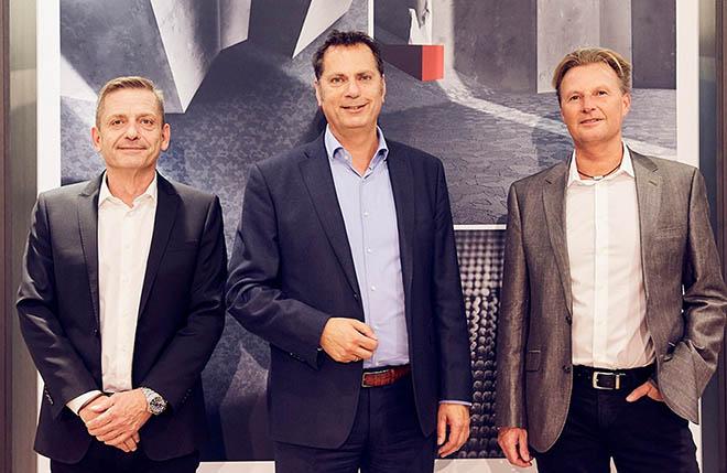 v.l.n.r.: Jörg-Michael Kogelfranz, Thomas Böhmler und Thomas Anetsberger. Fotocredit: Marcus Hassler