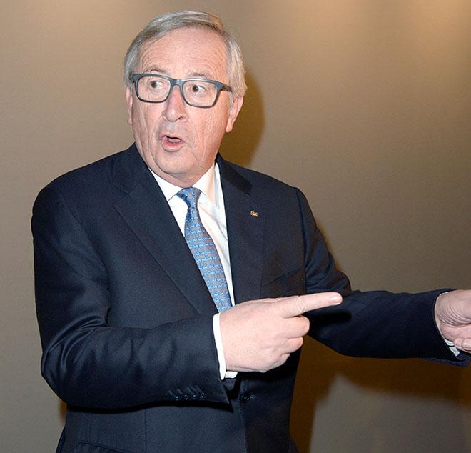 Jean-Claude Juncker (Präsident der Europäischen Kommission) hier während der Münchner Sicherheitskonferenz (MSC) 2018. Der Festakt am Tegernsee findet am 11. Januar 2019 auf dem Ludwig-Erhard-Gipfel statt. Fotocredit: Agentur Schneider-Press / Frank Rollitz