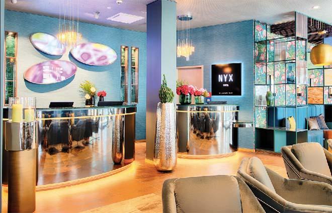 NYX Hotel München Lobby