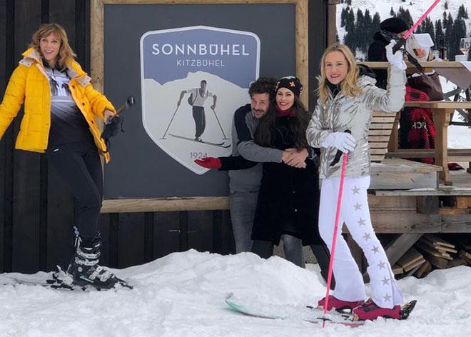 Schnee-Experten: Schauspielerin Carin C. Tietze, Bloggerin Jeannette Graf und Designerin Ophelia Blaimer. Fotocredit: Die Starnbergerin