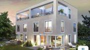 Pasopark Pasing: Villen im Bauhaus Stil im unbekannten Pasing