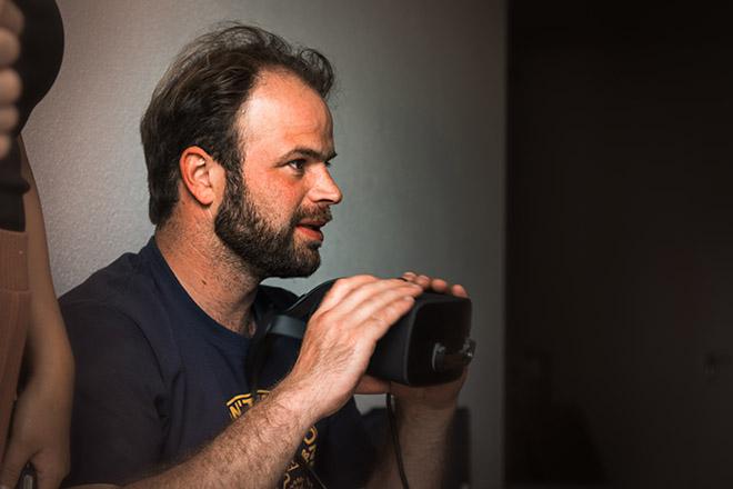 Christian Seisenberger während der JANUA Experience