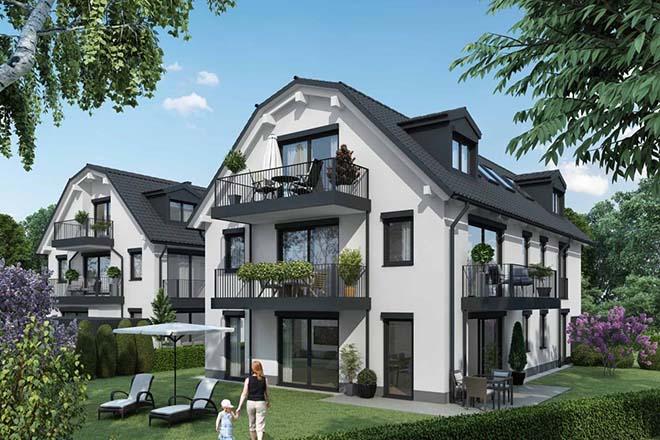 Es sind Drei- bis Vierzimmerwohnungen von 69 bis 132 Quadratmeter geplant.