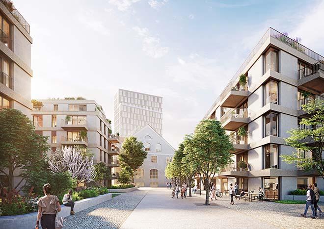 Das Pasinger Gelände um die alte Kuvertfabrik wird das nächste Vorzeigeobjekt vom Münchner Immobilienunternehmen Bauwerk Capital.