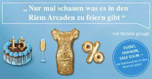 Jubiläumswochen @ Riem Arcaden