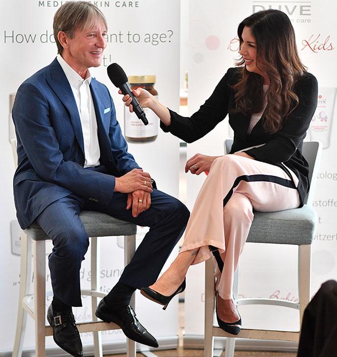 Dr. Stefan Duve im BeautyTalk mit Alexandra Polzin, Fotocredit: Goran Nitschke, BrauerPhotos
