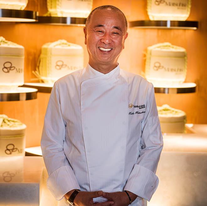Nobu Matsuhisa kredenzt japanische Küche mit peruanische Einflüssen