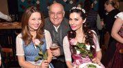 Promi-Ladies feiern den Weltfrauentag in Tracht im Restaurant Irmi