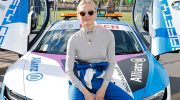 (Deutsche) VIPs bei der Formel E in Paris: Motorsport Rennserie ABB FIA Formula E