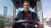 BAUMA in München: Hollywood-Star eröffnete weltweit größte Baumaschinen-Messe
