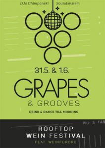 1. GRAPES & GROOVES Rooftop Weinfestival @ München Hoch5