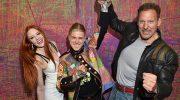 Hippe Kunst-Party in München zum Grand Studio Opening von Künstler Alexander Höller