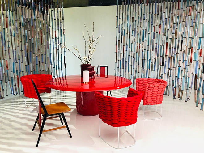 Viel Farbe dominiert Wohnräume. Fotocredit: böhmler