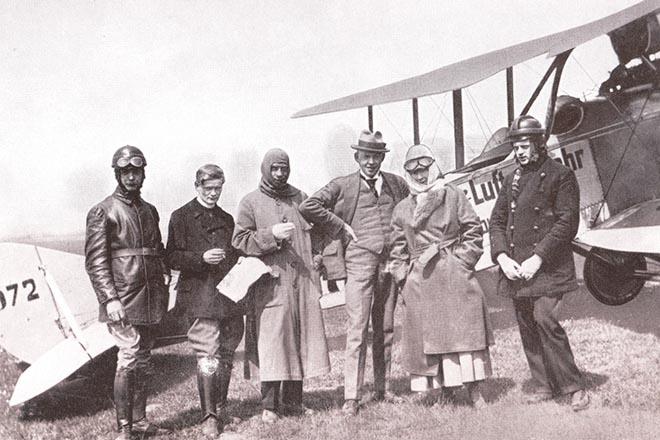 München erster Flug