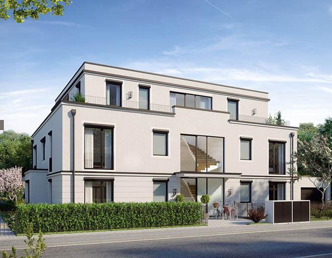 Vornehmes Fünffamilienhaus in begehrter Lage im Münchner Stadtteil Solln. Fotocredit: neubaukompass.de