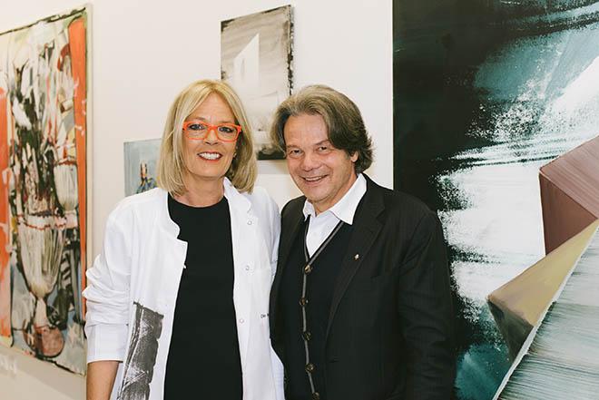 Heike Wilms mit Michael Käfer. Fotocredit: Kristina Assenova