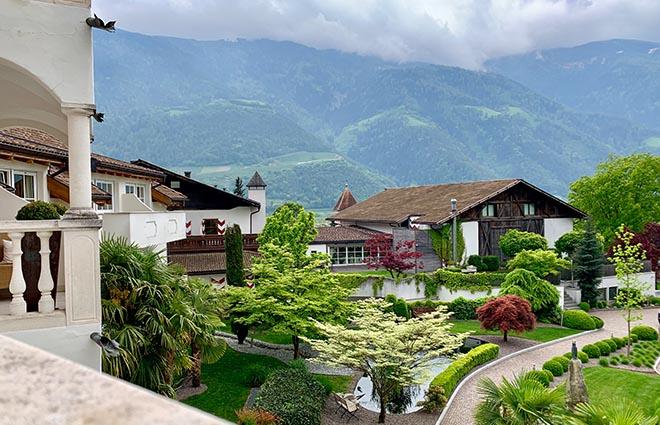 Der traumhafte Garten vom Hanswirt in Südtirol