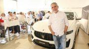 Exklusives Maserati-Dinner mit Sternekoch Mario Gamba