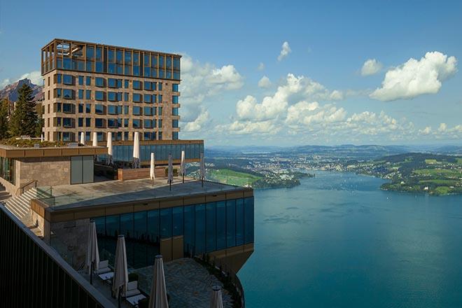 Lucerne Festival mit Sideevent im Bürgenstock Resort, welches direkt über dem Vierwaldstättersee liegt