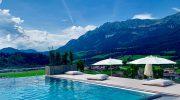 Neuer Hotel Hot Spot am Wilden Kaiser mit schönstem Infinity-Pool Tirols: Hotel Kaiserblick