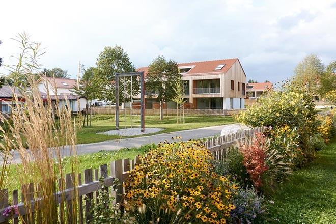 Wohnen am Kloster - Die Häuser verfügen über Wohnflächen von ca. 129 m² bis ca. 140 m². Fotocredit: neubaukompass.de