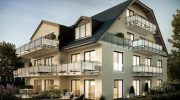 Mehrfamilienvilla im Maxhof: Vom Wohntrend 'en Suite' bis Spenglerarbeiten mit Kupfer