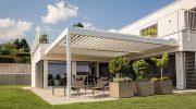 Pavillon mit modularem Dachsystem ist im Trend
