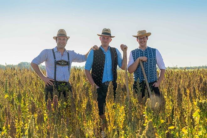 Quinoa aus Bayern