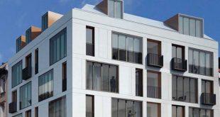 Neun City-Immobilien von ca. 43 qm bis ca. 140 qm entstehen hier! Wohnen am Königsplatz Fotocredit: neubaukompass.de