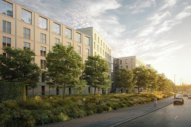 Neuer Wohntrend im Isarauenpark: Modulare Wohnungen zum Verkleinern oder Vergrößern! Fotocredit: eubaukompass.de