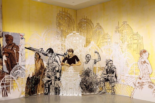 Street Art München mit US-Künstlerin Swoon temporär