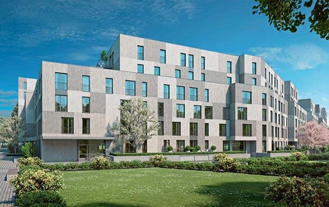 131 Eigentumswohnungen entstehen hier! neues Stadtquartier