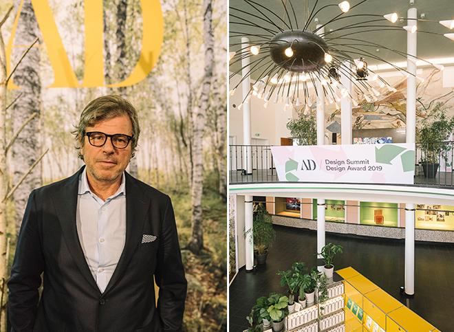 Enzo Enea azeigte in München sein spektakulären Projekt beim 3. AD Design Summit. Fotocredit: