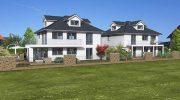 Familiäre Atmosphäre garantiert: Vier Wohnungen im Zweifamilienhaus