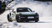 Greger Porsche Ice Race: Männer mit legendären Kisten